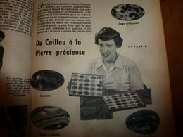 1953 MÉCANIQUE POPULAIRE: Faire Fausse-vraie Pierre Précieuse;Faire Un Bon Appât Pour Pêcher;Comment Monter à Cheval;etc - Sciences & Technique