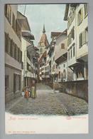 AK CH ZG Zug Gasse In Altstadt Foto Ungebraucht L.Glaser Gebr.Wehrli #1971 - ZG Zoug