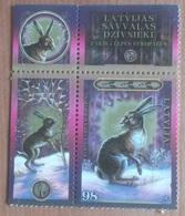 Lièvre / Lapin (Animaux) - Lettonie - 2009 - Lettonie