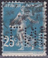 Perforé Perfin Lochung - N°Y&T 140 - PLN 99 - Produits Du Lion Noir - France