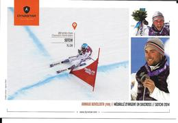 SKI ALPIN - ALPINE SKIING - SKICROSS - EQUIPE DE FRANCE BOVOLENTA  - SOCHI 2014 OLYMPICS WINTER GAMES - JEUX OLYMPIQUES - Sports D'hiver