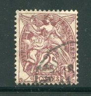 FRANCE- Y&T N°108- Oblitéré - 1900-29 Blanc