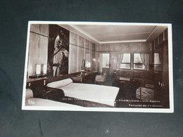 SAINT NAZAIRE  1930  / CIE TRANSATLANTIQUE VUE INTERIEURE PAQUEBOT NORMANDIE EDITEUR - Saint Nazaire