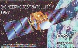 Télécarte Japon * ESPACE (852) GLOBE * SATELLITE * TERRESTRE * MAPPEMONDE * Telefonkarte Phonecard JAPAN * - Space