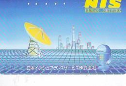 Télécarte Japon * ESPACE (855) GLOBE * SATELLITE * TERRESTRE * MAPPEMONDE * Telefonkarte Phonecard JAPAN * - Espacio