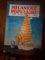 1953 MÉCANIQUE POPULAIRE: Se Préparer Pour Autre Planète;Pêche à L'arc; Truites Par Millions; Découpage Des Toles; Etc - Technical