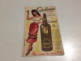Buvard Ancien CATALUNYA APÉRITIF VIN DOUX - Liqueur & Bière