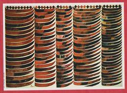"""BE+PE+TE+point"" D' Hossein Zenderoudi. Iran. Encyclopédie De 1970. - Oude Documenten"