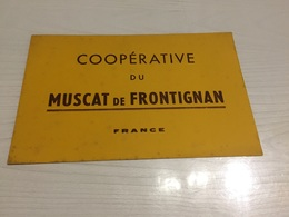 Buvard Ancien COOPÉRATIVE DU MUSCAT DE FRONTIGNAN FRANCE - Liqueur & Bière