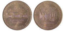 03380 GETTONE TOKEN JETON FICHA TRASPORTI COMMEMORATIVE TRANSPORT RELATED HAMBURG ELBTUNNEL 1968-1975 - Allemagne