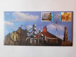 "Enveloppe 2011 ""Highlights Of Belgium"" & Médaille - Belgique"