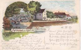 Rothkreuz-Hof Bei Würzburg 1899 - Wuerzburg