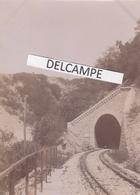 JURA  REVIGNY  1890/1900 - Photo Originale De La Sortie Du Souterrain De La Ligne De Tramway - Lieux
