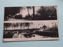 Groet Uit NEERHAEREN Gezicht Op Rustoord & Het Kanaal ( REPRO - COPY Van Postkaart Of Foto / Details Zie Foto ) ! - Lanaken