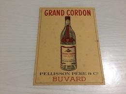 Buvard Ancien COGNAC EAU DE VIE GRAND CORDON PELLISSON - Liqueur & Bière