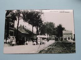 NEER-HAEREN Tram Halt - Route De Maeseyk ( REPRO - COPY Van Postkaart Of Foto / Details Zie Foto ) ! - Lanaken