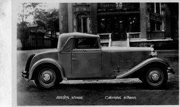 ARIES Automobile  -  Cabriolet  2 Places  -  Publicite Pour La Marque ARIES  -  CPA - Voitures De Tourisme