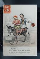 Carte Postale Illustrateur Afrique Du Nord - Algérie CHAGNY Bonne Année 1912 - Chagny