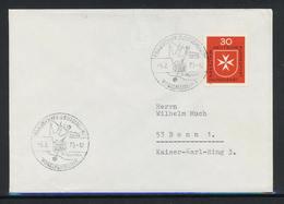"""BRD; Schiffspost, Fährschiff """"Theodor Heuss"""", Vogelfluglinie; B-942 - [7] Federal Republic"""
