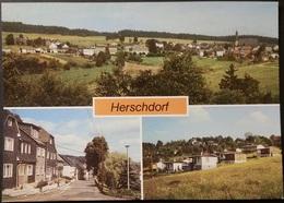 Ak DDR - Herschdorf - Ortsansichten - Bad Colberg-Heldberg