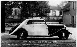 ARIES Automobile  -  Coach 4 Places Super 10/50  -  Publicite Pour La Marque ARIES  -  CPA - Voitures De Tourisme