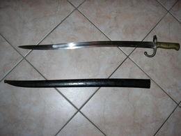 Baionnette CHASSEPOT Modèle 1866 - Armes Blanches
