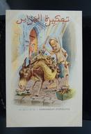 Carte Postale Ancienne Caricature Illustrateur Afrique Du Nord - Algérie Assus Ramasseur D'ordures - Illustrators & Photographers