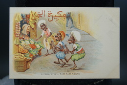 Carte Postale Ancienne Caricature Illustrateur Afrique Du Nord - Algérie Assus Tam Tam Nègre - Illustrateurs & Photographes