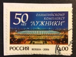 "Russia Used 2006 The 50th Anniversary Of Olympic Complex ""Luzhniki"", Football, Stadium, Soccer - 1992-.... Federation"