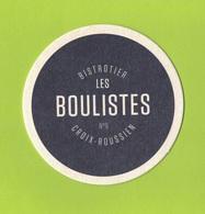 Capsules Ou Plaques De Muselet   SOUS BOCKS LES BOULISTES  CROIX ROUSSIEN - Sous-bocks