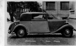 ARIES Automobile  -  Coach 4 Places   -  Publicite Pour La Marque ARIES  -  CPA - Voitures De Tourisme