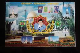 Turkmenistan. Ashgabat / Ashkhabad. Turkmenbashi. Modern Postcard 2000s - Turkmenistan