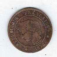 France 2 Centimes 1878 - Francia