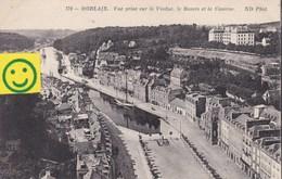 Morlaix - Vue Prise Sur Le Viaduc , Le Bassin Et La Caserne - Morlaix