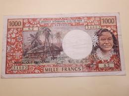 1 000 Fr De Papeete - Papeete (Polynésie Française 1914-1985)