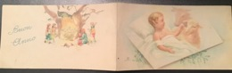 """CALENDARIETTO A Doppia Pagina 1943 """" BUON ANNO """" Ed. EB - Calendari"""
