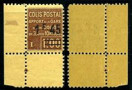 France Colis-Postaux N° 88A Neuf **  Coin De Feuille - Superbe Qualité - Colis Postaux