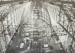 FRIEDRICHSHAFEN Zeppelin-Werk LZ 129 Hindenburg Im Bau Gerippe Mit Heckflosse - Dirigeables