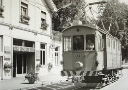 GENÈVE Gare De Eaux-Vives Train Bahn - GE Genève