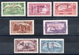 SYRIE - YT N° 192 à 198 - Neufs * - Cote: 31,50 € - Syrie (1919-1945)
