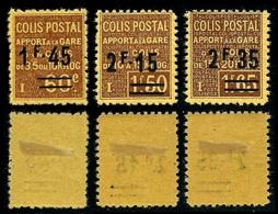 France Colis-Postaux N° 88, 89, 90 Neufs *  (MH)  TB Qualité - Colis Postaux