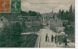 CHÂTILLON Sur LOIRE Vue Prise Du Canal -1920 - Bon état - Chatillon Sur Loire