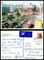 EC [00002] - SOUTH AFRICA - JOHANNESBURG SCEENES - LIBRARY GARDENS  BIBLIOTHEQUE TRAM TRAMWAY TRAMCAR TRANVIA BUS DKW - Afrique Du Sud