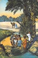 Afrique > Algérie ( Scènes Et Types)  Enfants Se Baignant Dans Un Oued ( Editions  LL  6086) *PRIX FIXE - Scènes & Types