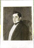 Portrait Of Russian Writer Griboyedov Painter Kramskoy 1947 USSR Rare Art Postcard - Writers