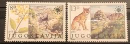 Yugoslavia, 1981, Mi: 1908/09 (MNH) - Felinos