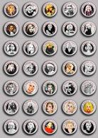 35 X Blondie Band-Deborah Harry Music Fan ART BADGE BUTTON PIN SET 1 (1inch/25mm Diameter) - Music