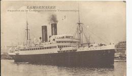 Bateau    LAMORICIERE - Steamers