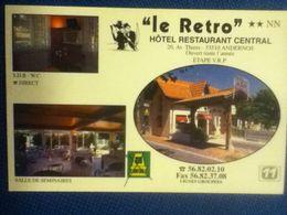 "PM100 * ""Le Retro"" Hôtel Restaurant Central - Andernos - Andernos-les-Bains"