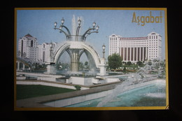 Turkmenistan. Ashgabat / Ashkhabad. New Dwelling Houses. Modern Postcard 2000s - Turkménistan